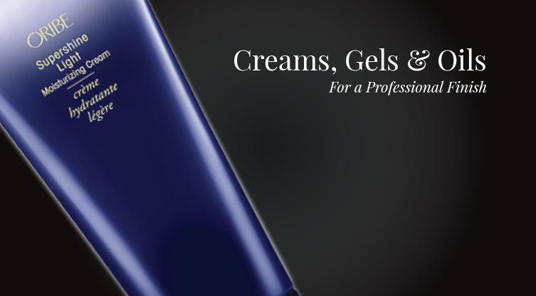 Creams, Gels & Oils